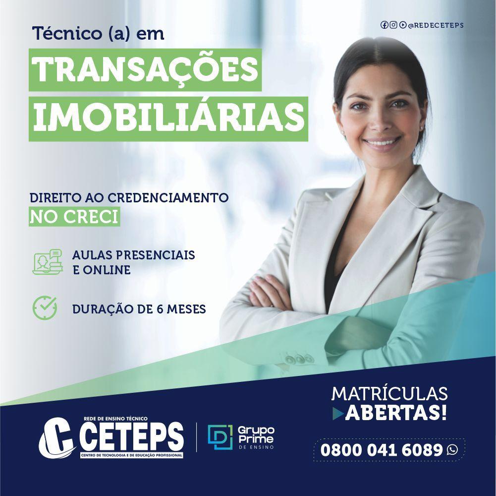 Técnico em Transações Imobiliárias (Corretor CRECI)